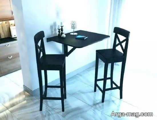مدل هایی متفاوت و ناب از مدل های میز ناهارخوری پنهان