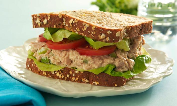 آموزش طرز تهیه ساندویچ تن ماهی