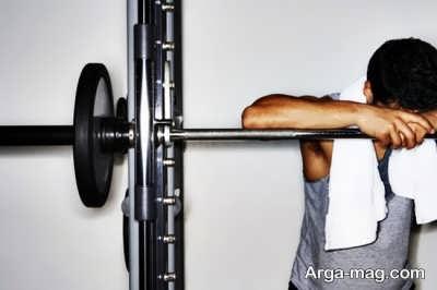 خستگی بیش از حد از نشانه های تمرین زده شدن می باشد.