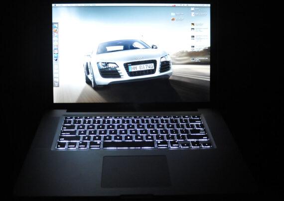 تنظیم نور لپ تاپ
