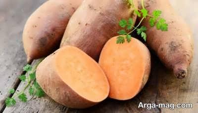 تاثیر سیب زمینی شیرین در تقویت ریه