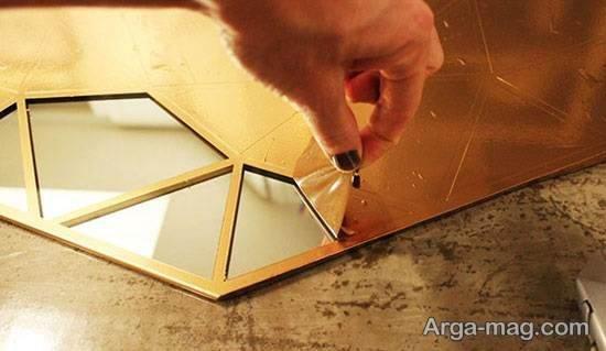 آموزش ساخت آینه دکوراتیو برای تزییتن خانه