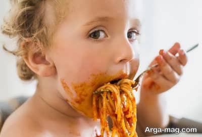 علاقمند نمودن کودکان به غذا خوردن