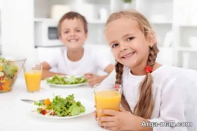 علاقمند کردن کودکان به خوردن غذا