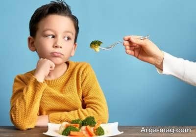 علاقمند نمودن کودکان به میل غذا