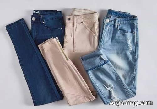 طرح شلوار جین مردانه