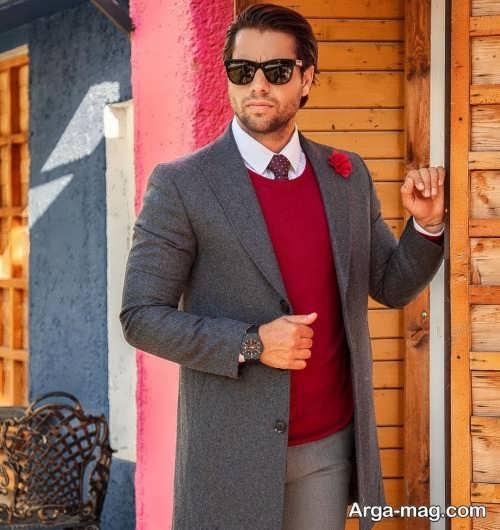 ست لباس زمستانی مردانه شیک و جدید