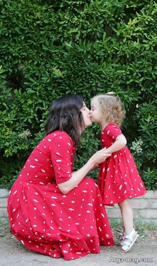انواع خاص فیگور عکس مادر و دختر