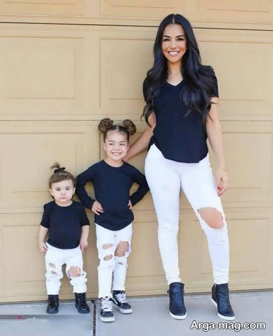 سری اول ژست عکس مادر و دختر