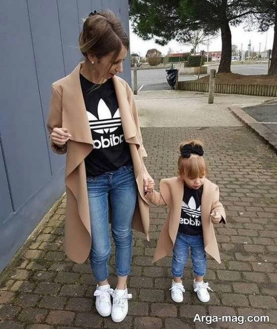 سری جدید ژست عکس مادر و دختر