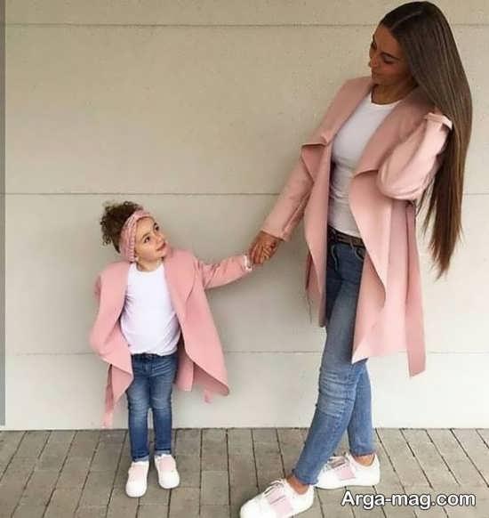 انواع مختلف فیگور عکس مادر و دختر