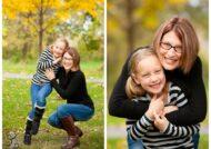 آشنایی با ژست عکس مادر و دختر با طرح های متفاوت