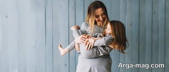 نمونه فیگور شیک مادر و دختر