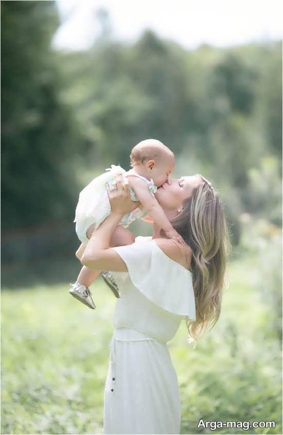 گلچین ژست عکس مادر و دختر