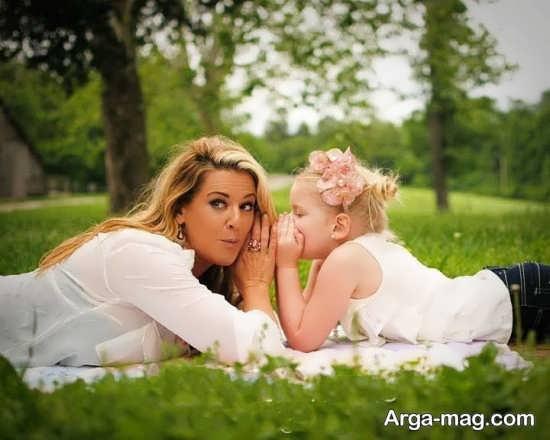 نمونه فیگور های متنوع و شیک مادر و دختر