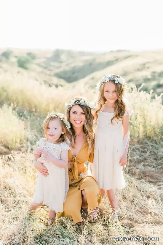 فیگور جذاب و زیبا مادر و دختر
