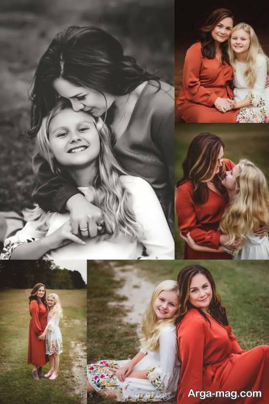 فیگور زیبا و خاص مادر و دختر