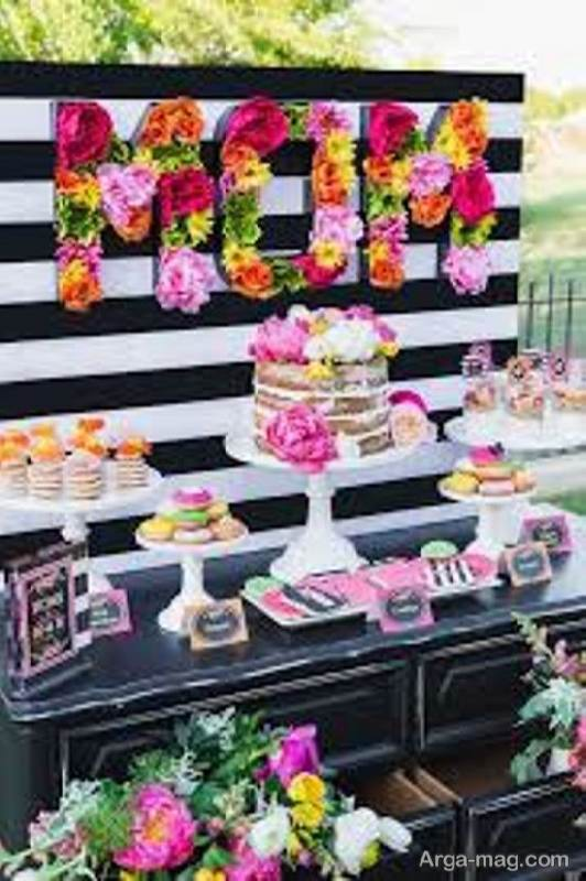 نمونه هایی ایده آل و زیبا برای مهمانی روز تولد مادر