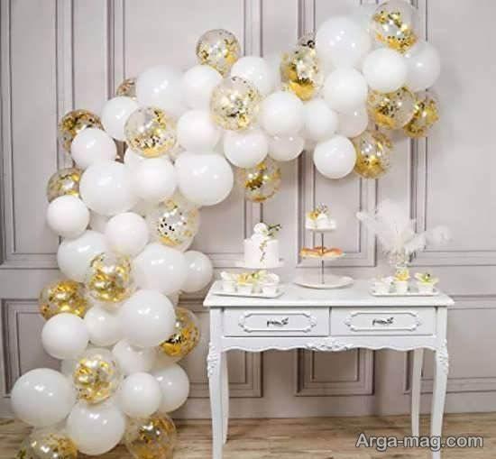 ایده های شیک و لوکس تزیین جشن تولد مامان با تم سفید