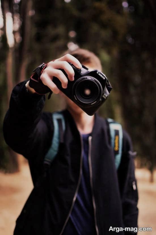 انواع فیگور عکس با دوربین