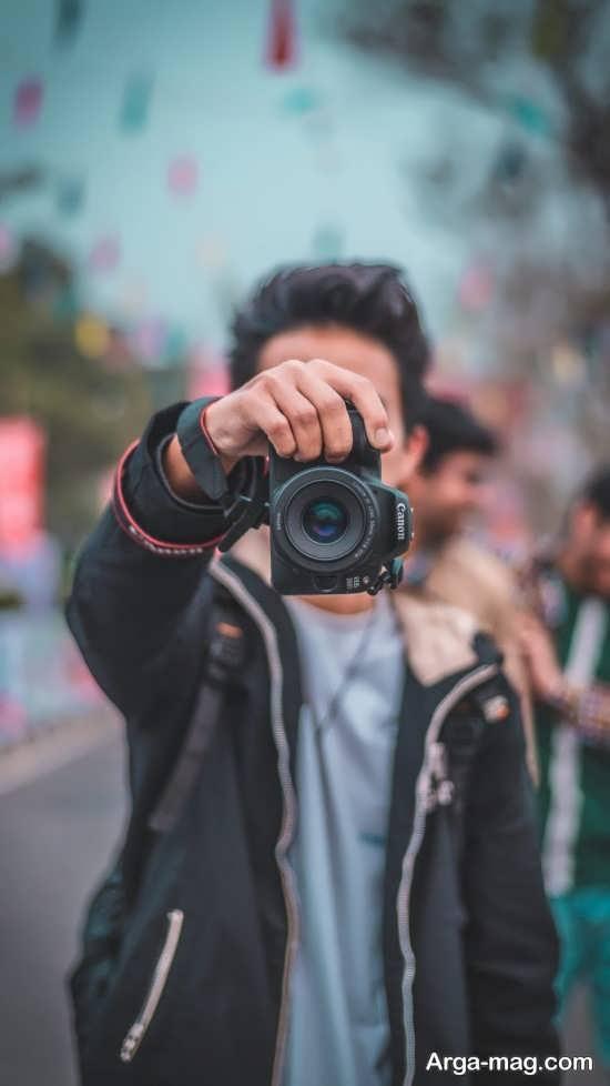 انواع مختلف ژست عکس با دوربین