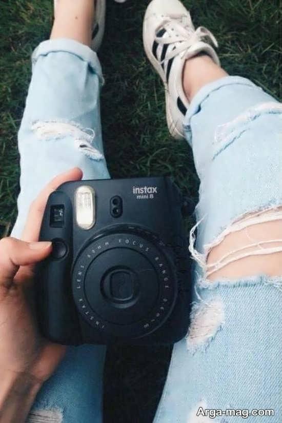 انواع متنوع ژست عکس با دوربین