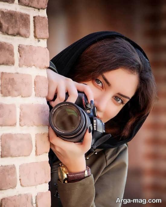 انواع جالب فیگور دخترانه با دوربین