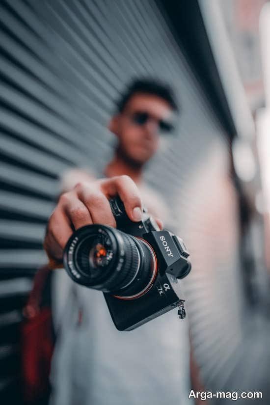 مجموعه جدید ژست عکس با دوربین