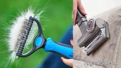 روش های استفاده از غلطک برای رفع موهای ریخته شده فرش