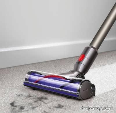چگونگی جمع کردن مو از روی فرش