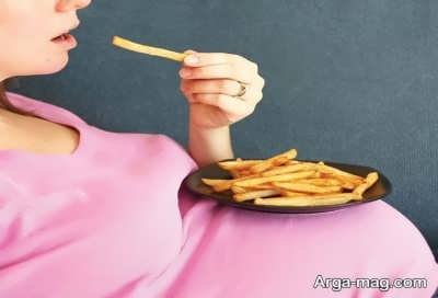 عوارض سیب زمینی در حاملگی