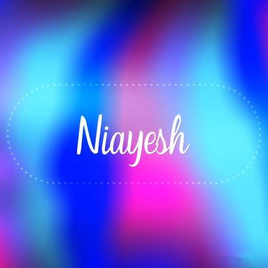 عکس پروفایل اسم نیایش + تصویر