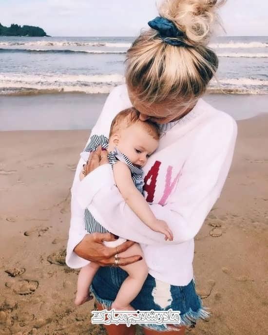 انواع خاص عکس نوشته مادر و پسر