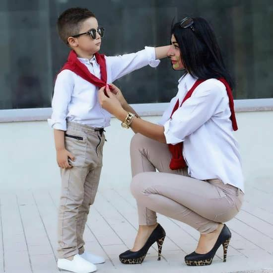 انواع متنوع عکس پروفایل مادر و پسر