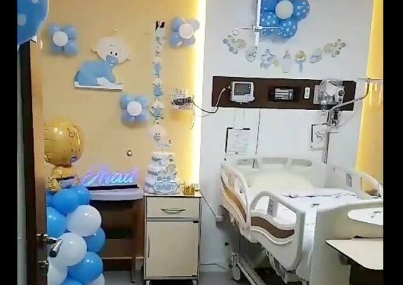 ایده هایی زیبا و جذاب ازتزیین اتاق بیمارستان برای نوزاد دختر و پسر