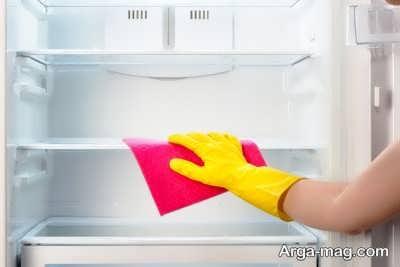 روش تمیز کردن یخچال