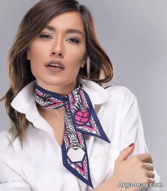 آموزش دوخت دستمال گردن همراه با ایده های زیبا