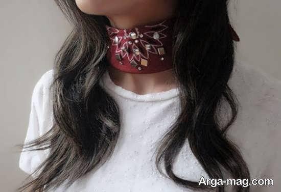آموزش دوختن دستمال گردن برای شیک تر پوشش