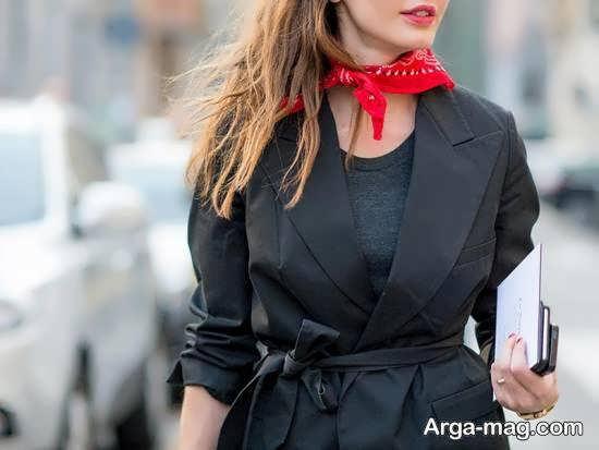 آموزش دوختن دستمال گردن با استفاده از ایده های جالب