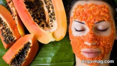 استفاده از ماسک پاپایا برای صورت