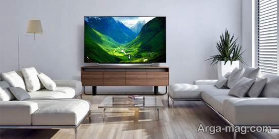 انواع مدل های جدید مبل جلوی تلویزیون با استفاده از ایده های شیک و متنوع