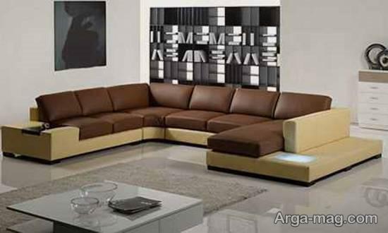 نمونه های منحصر به فرد از مبلمان جلوی تلویزیون