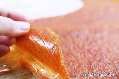 دستور تهیه لواشک نارنگی