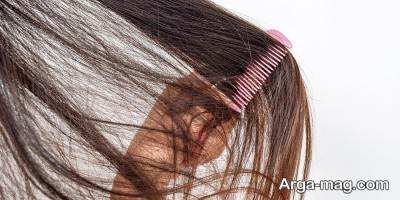 شانه زدن نا مناسب مو ها