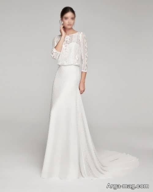 لباس عروس 2021 ساده