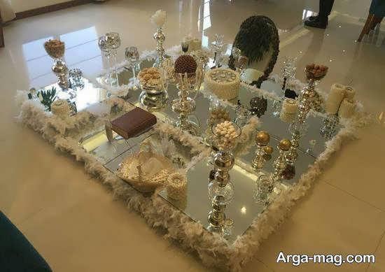 گالری شیک و متنوعی از تزیین سفره عروسی 2021