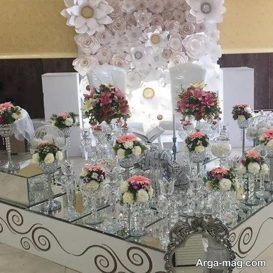 گالری شیکی از تزیین سفره ی عروسی و نامزدی 2021