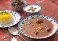 آشپزی آخر هفته با منوی یزدی
