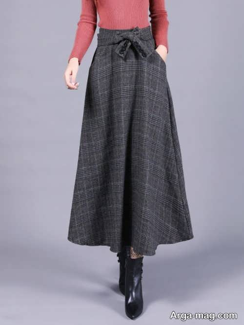 دامن زنانه زیبا و ساده