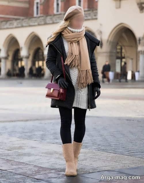 ست لباس زنانه زمستانی